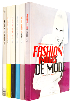 FASHION IMAGES DE MODE 6 complete volume set