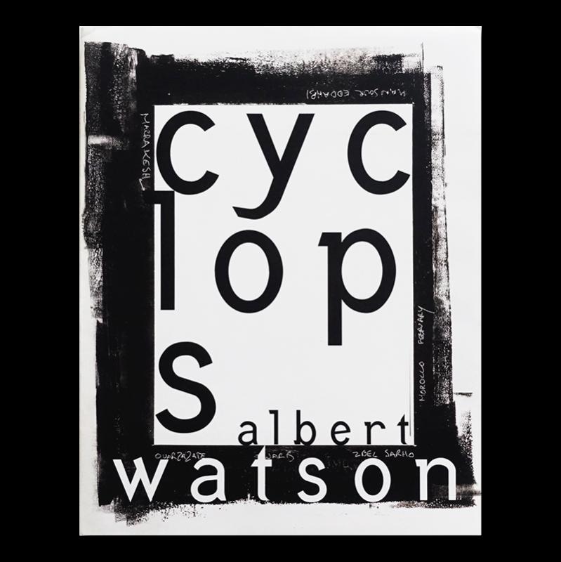 CYCLOPS large edition by Albert Watson アルバート・ワトソン 写真集
