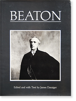 BEATON Edited and with Text by James Danziger セシル・ビートン