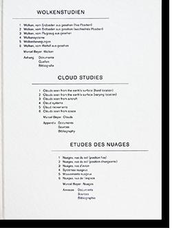WOLKENSTUDIEN CLOUD STUDIES ETUDES DES NUAGES Helmut Volter ヘルムート・ヴォルター