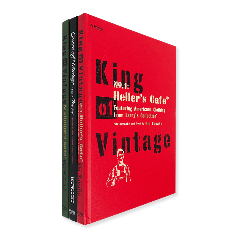 King of Vintage vol.1, 2, and 3 complete set Rin Tanaka 田中凛太郎 署名本 signed