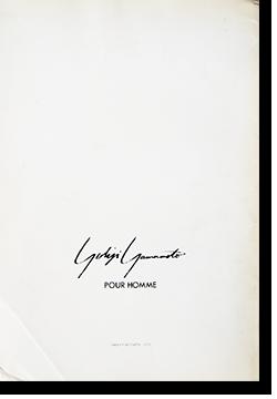 YOHJI YAMAMOTO POUR HOMME 1986 printemps-ete Catalogue ヨウジヤマモト プールオム 1986 春夏 カタログ