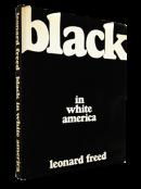 BLACK IN WHITE AMERICA First Edition Leonard Freed レナード・フリード 写真集