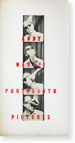 ANDY WARHOL PHOTOBOOTH PICTURES アンディ・ウォーホル 写真集