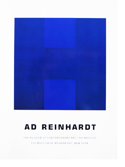 AD REINHARDT Exhibition Catalogue 1991 アド・ラインハート 展覧会カタログ