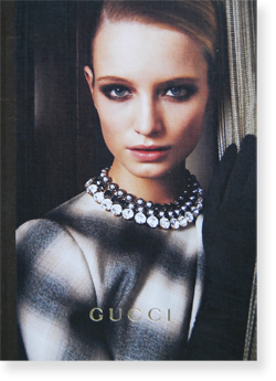 GUCCI Women's Collection Fall 2013 グッチ 2013年 ウィメンズ・コレクション カタログ