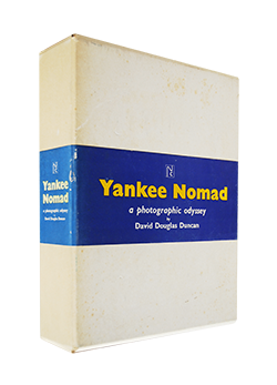Yankee Nomad a photographic odyssey by David Douglas Duncan ヤンキー放浪者 デイビッド・ダグラス・ダンカン