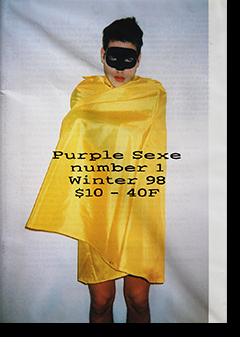 Purple Sexe number 1 Winter 98 パープル セックス 1998年第1号