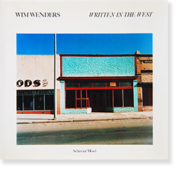 WRITTEN IN THE WEST hardcover edition Wim Wenders ヴィム・ヴェンダース 写真集
