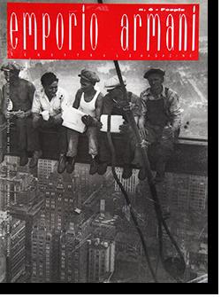 EMPORIO ARMANI MAGAZINE No.6-People Settembre 1991-Febbraio 1992 エンポリオ・アルマーニ・マガジン 第6号