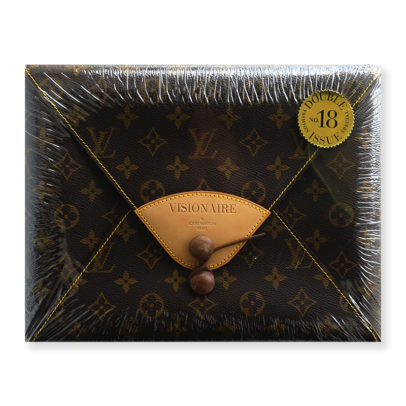 VISIONAIRE No.18 FASHION ISSUE Louis Vuitton ヴィジョネア 1996年 第18号 ルイ・ヴィトン 未開封 unopened