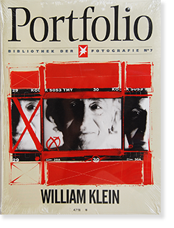 Portfolio Bibliothek der Stern Fotografie No.7 WILLIAM KLEIN ウィリアム・クライン 写真集 新品未開封 unopened