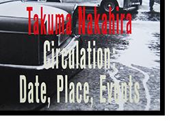 サーキュレーション 日付、場所、行為 中平卓馬 写真集 Takuma Nakahira Circulation: Date, Place, Events