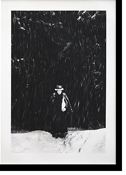 小田嶽夫 ポートレイト 濱谷浩 プリント Portrait of Oda Takeo in Niigata, 1947. HIROSHI HAMAYA print