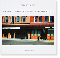 PICTURES FROM THE SURFACE OF THE EARTH softcover edition Wim Wenders ヴィム・ヴェンダース 写真集
