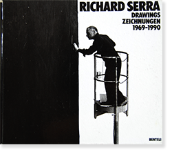 RICHARD SERRA DRAWINGS ZEICHNUNGEN 1969-1990 hardcover Catalogue Raisonne