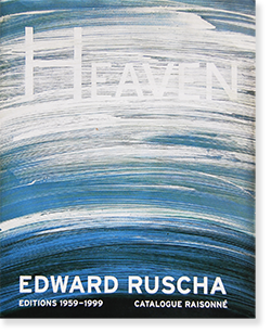 EDWARD RUSCHA EDITIONS 1959-1999 Catalogue Raisonne エドワード・ルシェ カタログレゾネ