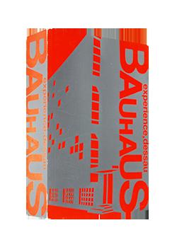 バウハウス・デッサウ展 カタログ BAUHAUS experience, dessau