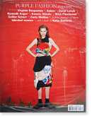 Purple Fashion Magazine volume 3, issue 16 Fall/Winter 2011/2012 パープルファッション 2011年16号 新品未開封 unopened