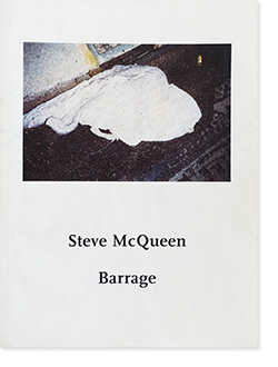 Steve McQueen: Barrage スティーブ・マックイーン 写真集 署名本 signed