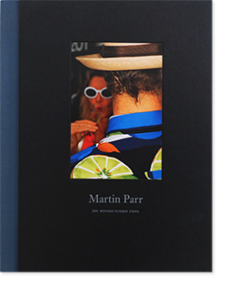 Martin Parr JGS: WITNESS NUMBER THREE マーティン・パー 写真集 献呈署名本 inscribed