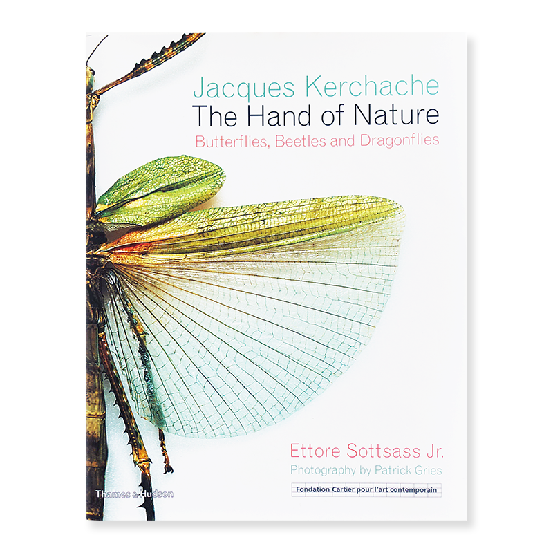 The Hand of Nature: Butterflies, Beetles and Dragonflies by Jacques Kerchache, Ettore Sottsass Jr.