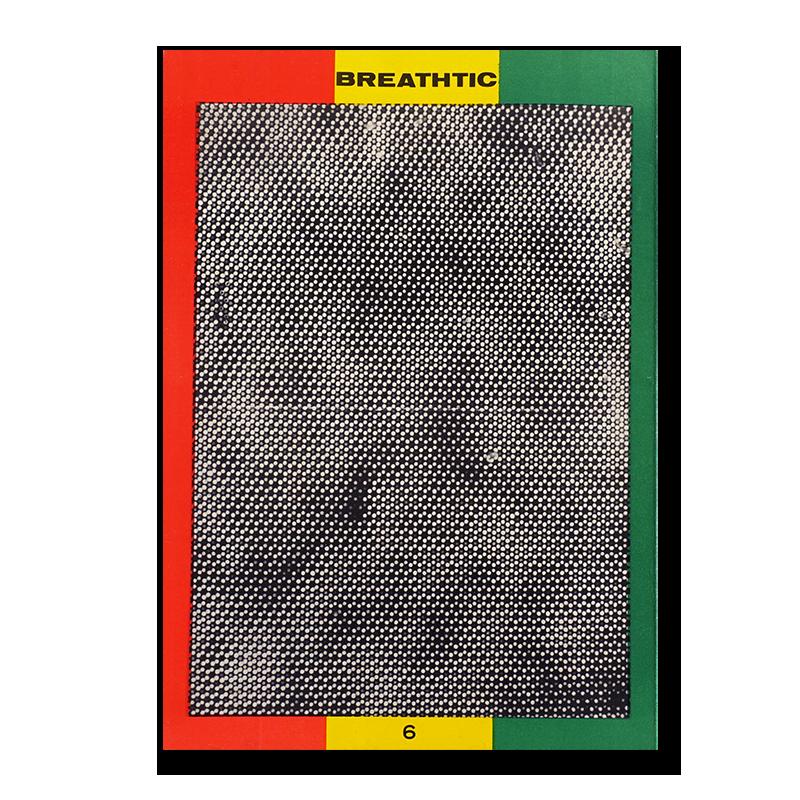 ブレスティック 6号 1974年 荒木経惟 沢渡朔 他 BREATHTIC No.6 1974 Nobuyoshi Araki, Hajime Sawatari