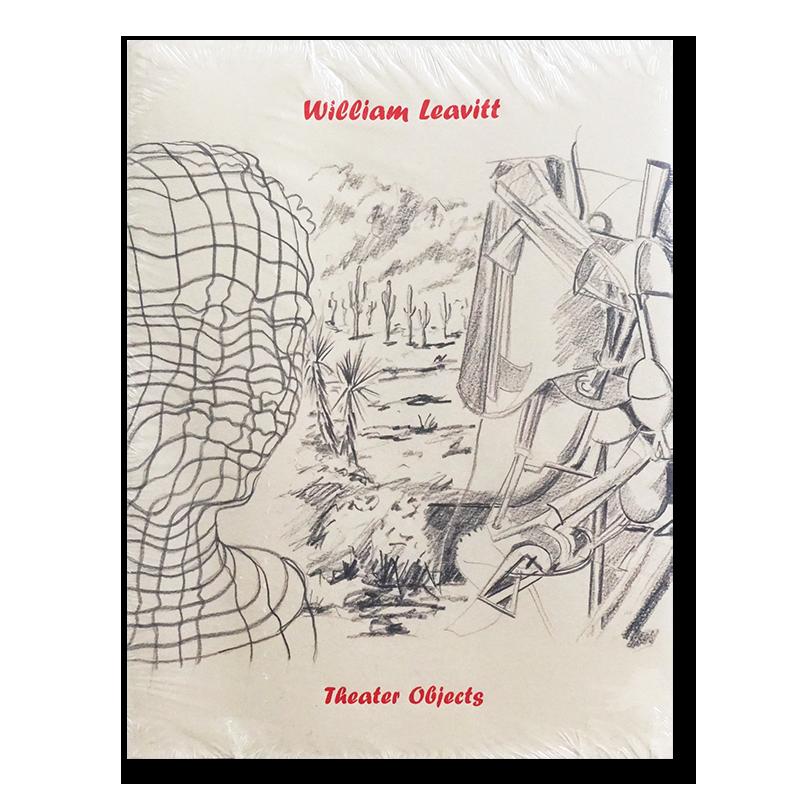 William Leavitt: Theater Objects ウィリアム・リーヴィット 展覧会カタログ 新品未開封品 unopened