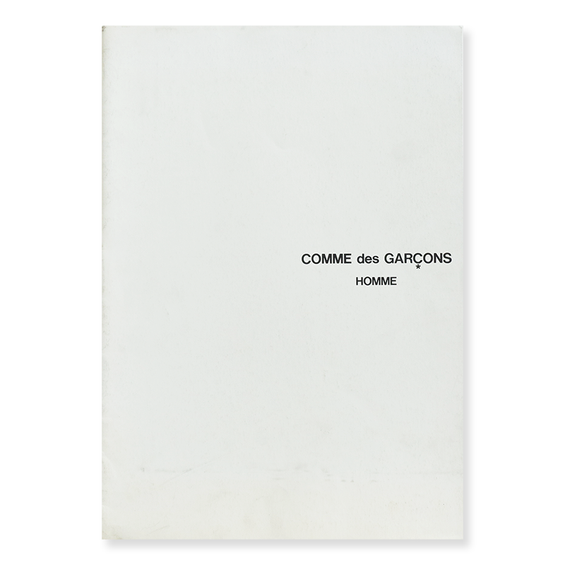 COMME des GARCONS HOMME No.27 Catalogue 1987 コムデギャルソン・オム カタログ 27号 1987年