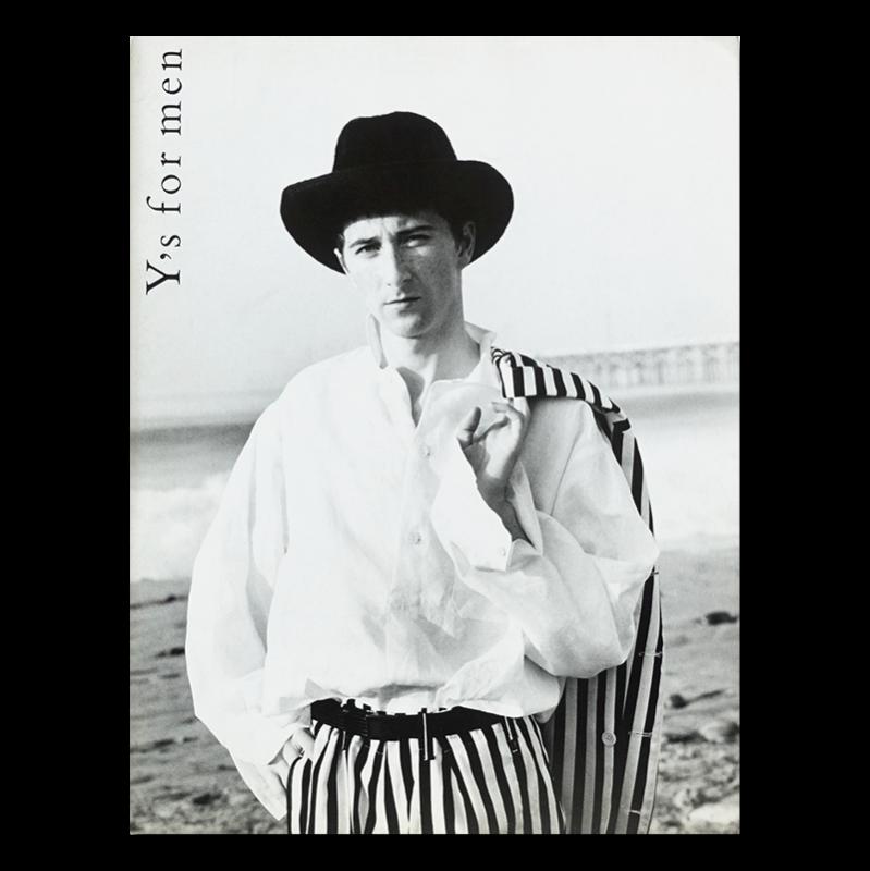 Y's for men 1980's or 90's Lookbook catalogue ワイズフォーメン ルックブック カタログ