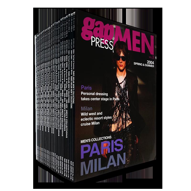 Gap Press Men 24 volumes set 2003-2016