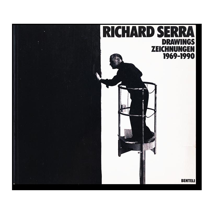 RICHARD SERRA DRAWINGS ZEICHNUNGEN 1969-1990 softcover Catalogue Raisonne