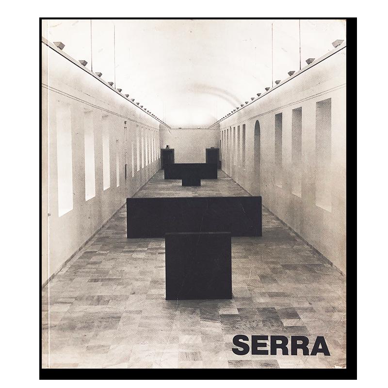 RICHARD SERRA an exhibition catalogue in 1987-1988