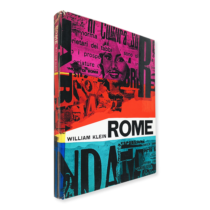 ROME First French Edition by William Klein