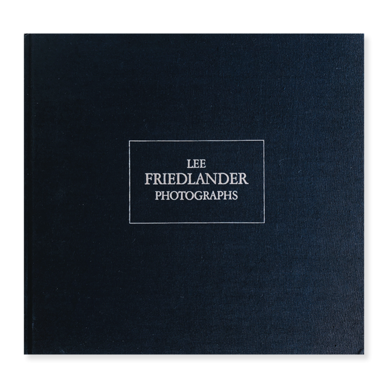 LEE FRIEDLANDER PHOTOGRAPHS *signed