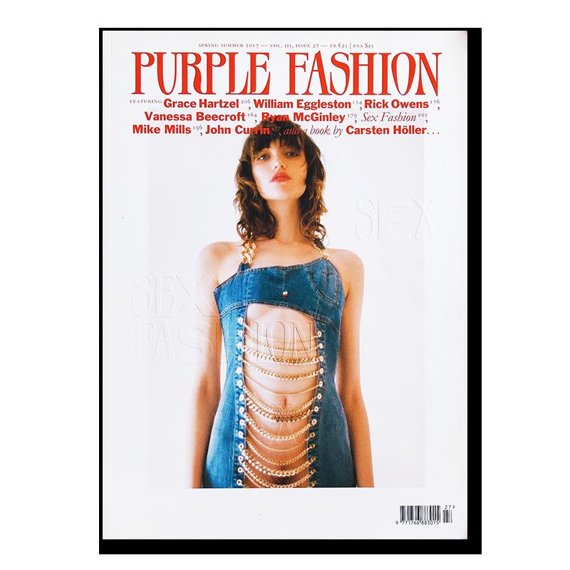 Purple Fashion Magazine spring summer 2017 volume 3, issue 27