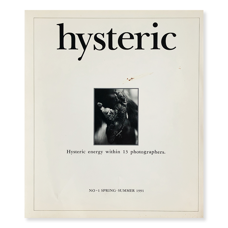 hysteric No.1 SPRING-SUMMER 1991