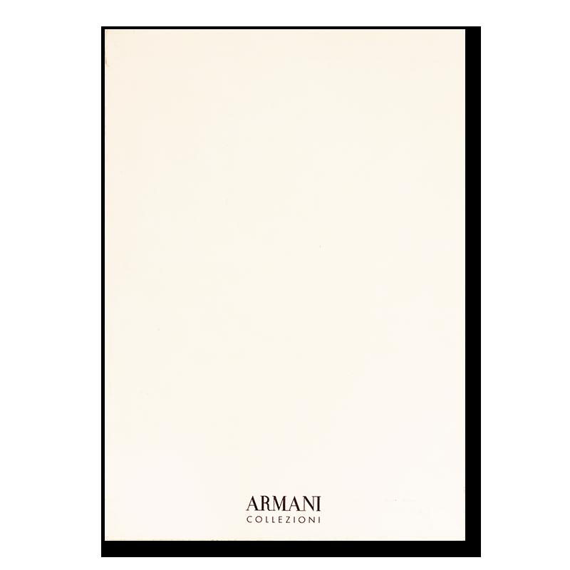 ARMANI COLLEZIONI Spring/Summer 2002