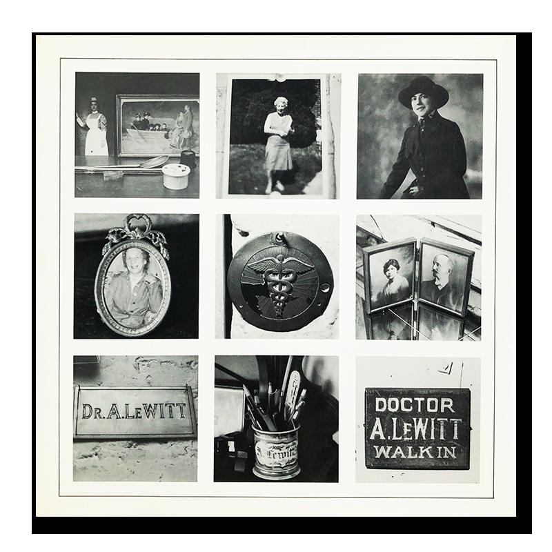 AUTOBIOGRAPHY SOL LEWITT 1980