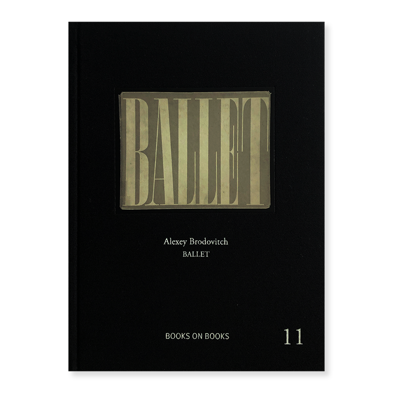 Ballet ALEXEY BRODOVITCH Books on Books #11