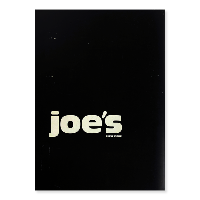 JOE'S FIRST ISSUE edited by Joe McKenna