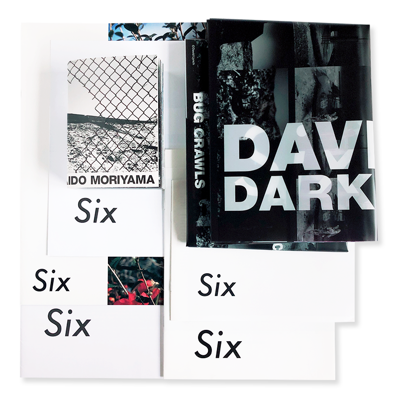 the exhibition catalogues of SIX by Comme des Garcons complete 7 volumes set