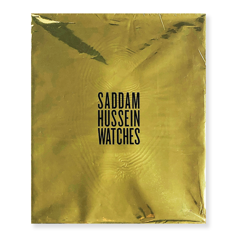 SADDAM HUSSEIN WATCHES by Martin Parr *inscribed