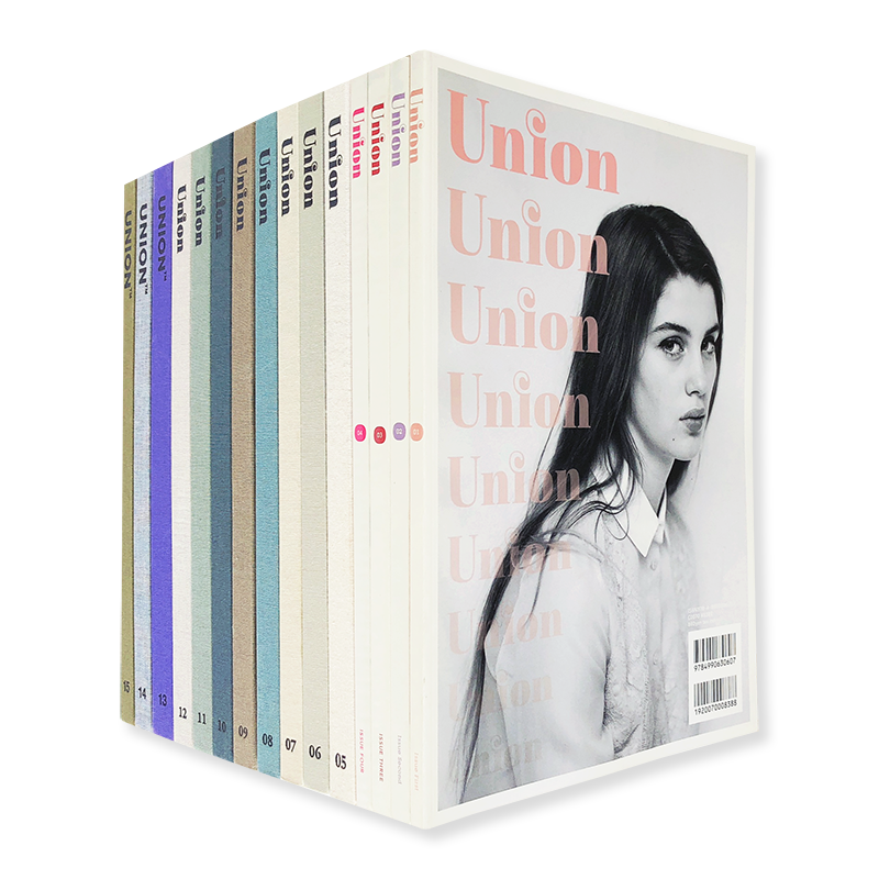 UNION Magazine 15 volume set Issue 1-15