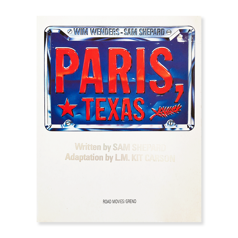 PARIS, TEXAS Wim Wenders-Sam Shepard