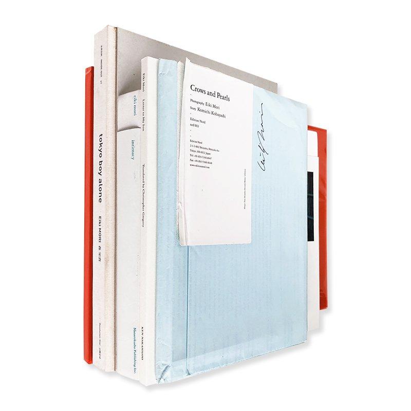 Eiki Mori: complete 5 photobooks set *signed