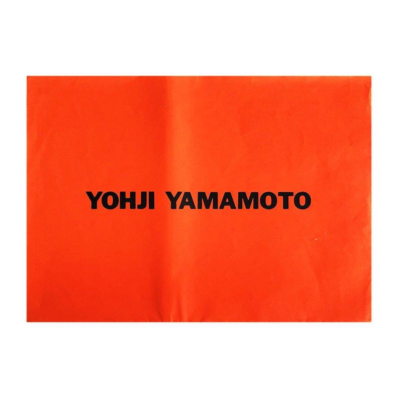 Yohji Yamamoto Spring Summer '93 collection invitation & poster<br>ヨウジヤマモト 1993年 春夏コレクション 招待状兼ポスター