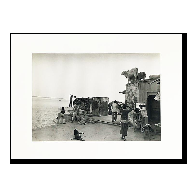 Hiroh Kikai: original print 「Varanasi」 1982<br>鬼海弘雄 オリジナルプリント  バラナシ(ベナレス) 1982年 インド