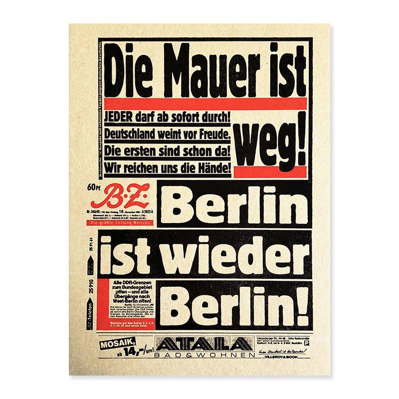 Mark Power: Die Mauer ist weg ! *signed<br>マーク・パワー *署名本