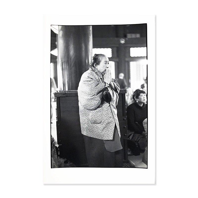 Kazuo Kitai: original print 「Hoonko」at Higashi Honganji, 1988<br>北井一夫 オリジナルプリント  報恩講 東本願寺 1988年